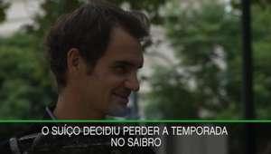 Federer não participará de Roland Garros