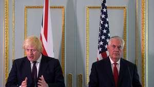 Tillerson: EUA assumem total responsabilidade por vazamentos