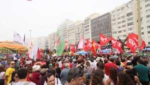 "Artistas convocam protesto no Rio por ""Diretas Já"""