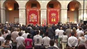 Real Madrid realiza homenagem às vítimas do atentado em ...