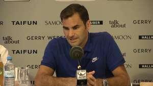 ATP Tour: Grama não é a minha superfície natural - Federer