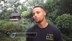 """Curry: """"Tai chi chuan ajuda a ter equilíbrio e foco"""""""