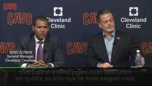 Inimizade entre Irving e LeBron? Gerente Geral dos Cavs ...