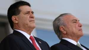 Em nova gafe, Temer confunde Paraguai e Portugal em discurso