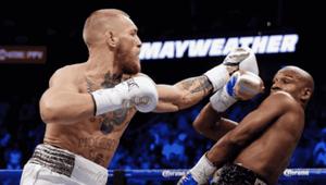 McGregor discorda de interrupção em luta com Mayweather