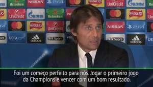 """Champions League: Conte: """"Foi um começo perfeito para nós"""""""