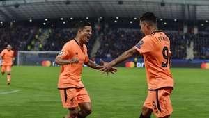 Liverpool atropela Maribor e faz história; Spartak goleia