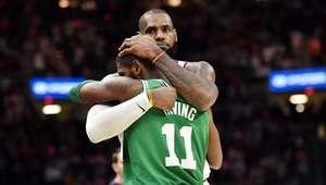 LeBron supera Irving e Cavs batem Celtics na abertura da NBA