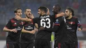 Bonucci falha, mas Milan se recupera e goleia Áustria Viena