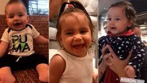 Vídeos: Risadas mais encantadoras dos bebês dos famosos