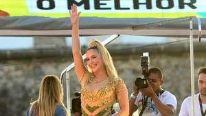 C. Leitte é madrinha do Carnaval Sustentável de Salvador