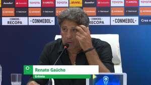 """GRÊMIO: Renato Gaúcho: """"Não nos encontramos no primeiro ..."""