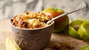 Crumble de maçã: sobremesa deliciosa e fácil de fazer