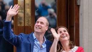 Kate Middleton e bebê real recebem alta de hospital