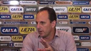 "FORTALEZA: Rogério Ceni: ""Temos que manter a confiança e ..."