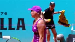 WTA Madrid: Bertens v Wozniacki (6-2, 6-2) - melhores ...
