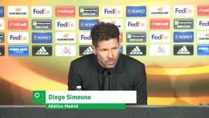 "UEFA Europa League: Simeone: ""Atlético de Madrid faz ..."