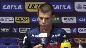 """FORTALEZA: Jussani sobre duelo com Criciúma: """"Não vai ..."""