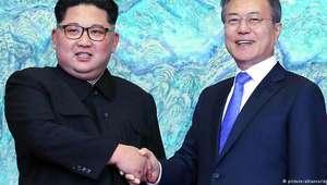 Líderes das Coreias tentam salvar encontro com Trump