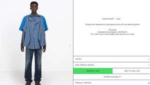 A nova camisa de R$ 4.600 da Balenciaga que gerou uma ...