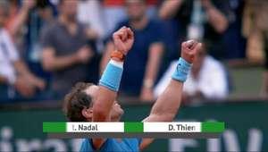 Nadal conquista o 11º título do torneio francês