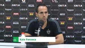 """ATLÉTICO-MG: Kaio Fonseca: """"Torcedor colocou o time para ..."""