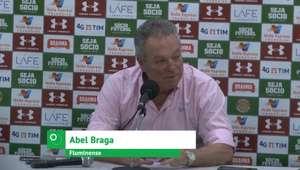 "FLUMINENSE: Abel Braga: ""Sabíamos que íamos pagar um ..."