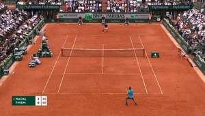 Roland Garros: Nadal e Thiem trocam 'winners' na final