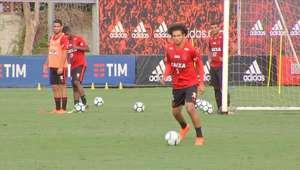 FLAMENGO: Flamengo se reapresentou no Ninho do Urubu ...