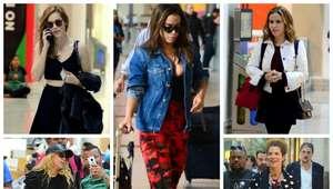 Viajando com estilo: veja 7 looks de aeroporto das famosas