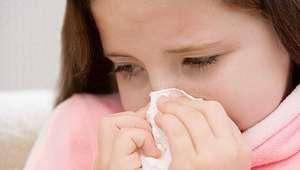 Rinite alérgica pode começar na infância