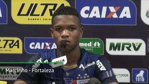 """FORTALEZA: Marcinho elogia time: """"Quem entrar vai fazer ..."""