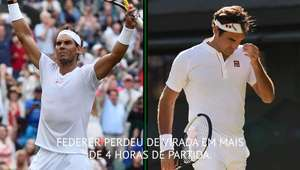 Wimbledon: 9º dia: Federer eliminado e Nadal venceu Potro