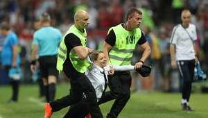 Invasores da final da Copa ficarão detidos por 15 dias
