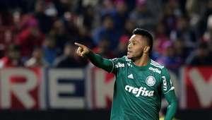 Borja faz dois e Palmeiras leva vantagem do Paraguai