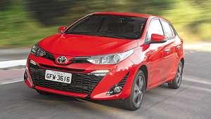 Avaliação: Toyota Yaris Hatch traz as qualidades do Sedã