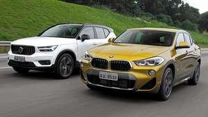 Comparativo: BMW X2 vs. Volvo XC40
