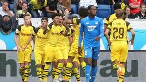 Com um a menos, Borussia arranca empate com Hoffenheim