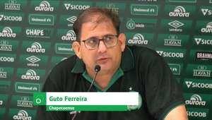 """CHAPECOENSE: Guto Ferreira: """"Nos faltou concentração"""""""