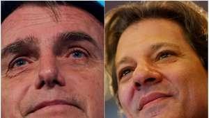 Datafolha: Bolsonaro cresce e atinge 32%; Haddad tem 21%