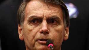 """Bolsonaro para Haddad: """"quem conversa com poste é bêbado"""""""