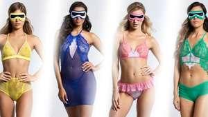 'Power Rangers' são inspiração para linha de lingeries
