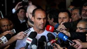 Eduardo Bolsonaro diz que nunca defendeu fechamento do STF