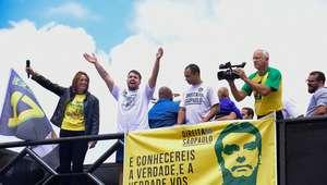 Atos pró-Bolsonaro levam apoiadores a várias cidades do País