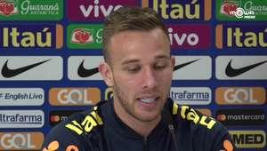 Arthur revela surpresa com intensidade nos treinos da ...