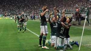 Palmeiras vence Fluminense e pode ser campeão no domingo