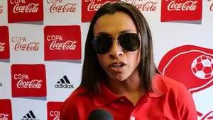 Marta e Copa das Confederações fazem alegria dos campeões