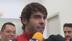 São Paulo: Kaká vibra com gol decisivo na Copa Sul-Americana