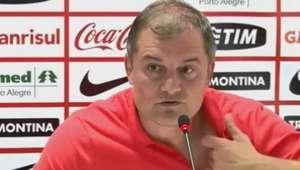 """Aguirre aprova """"vitória magra"""" do Inter contra o Tigres"""