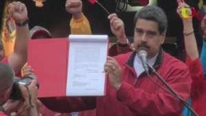 Parlamento critica convocação da Constituinte por Maduro